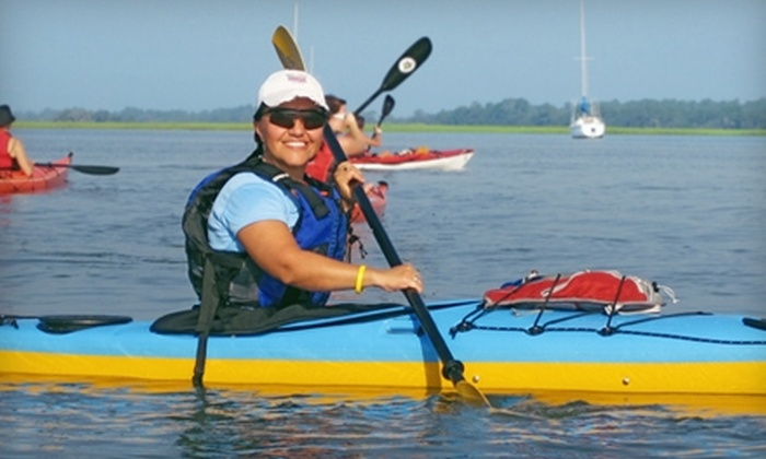 Sea Kayak Carolina - James Island: $24 for a Two- to Three-Hour Guided Folly River Tour from Sea Kayak Carolina on James Island ($49 Value)