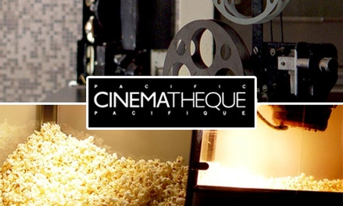 Pacific Cinémathèque - Downtown Vancouver: $8 for a Double-Bill Movie Ticket, Popcorn, and Drink at Pacific Cinémathèque ($17 Value)