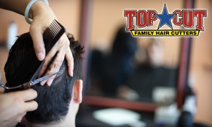Top Cut Family Hair Cutters - Multiple Locations: $6 for Haircut at Top Cut Family Hair Cutters (Up to $11.95 Value)