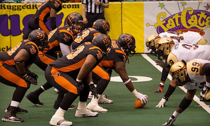 Utah Blaze - Capitol Hill: Utah Blaze Game and T-shirt (Half Off). Two Seating Options and Four Games Available.
