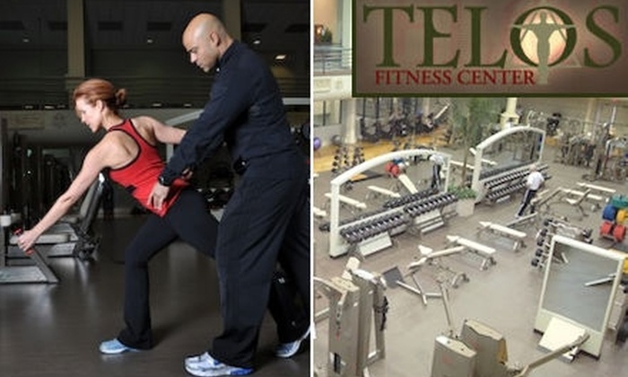 TELOS Fitness Center - Farmers Branch: $70 for a One-Month Membership, Three Personal-Training Sessions, and Ortho-Kinetics Assessment at TELOS Fitness Center