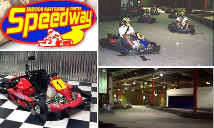 Speedway Raceway - Central City: $29 for Three Go-Kart Races at Speedway Raceway