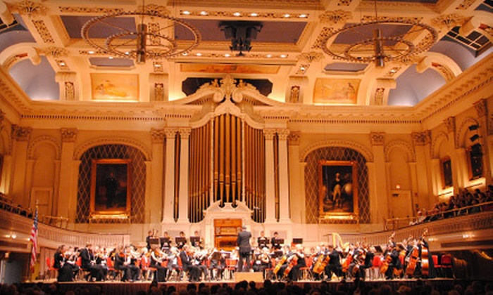 The Nordwest German Staatskapelle presented by Music Worcester - Central Business District: Orchestra Night for Two or Four to See The Nordwest German Staatskapelle at Mechanics Hall on March 1 (Up to 63% Off)