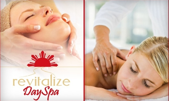 Revitalize Day Spa - Downtown Birmingham: $35 for Either a 60-Minute Signature Massage or Signature Facial at Revitalize Day Spa in Birmingham
