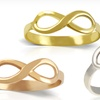 $8.99 for Sterling Silver Infinity Rings