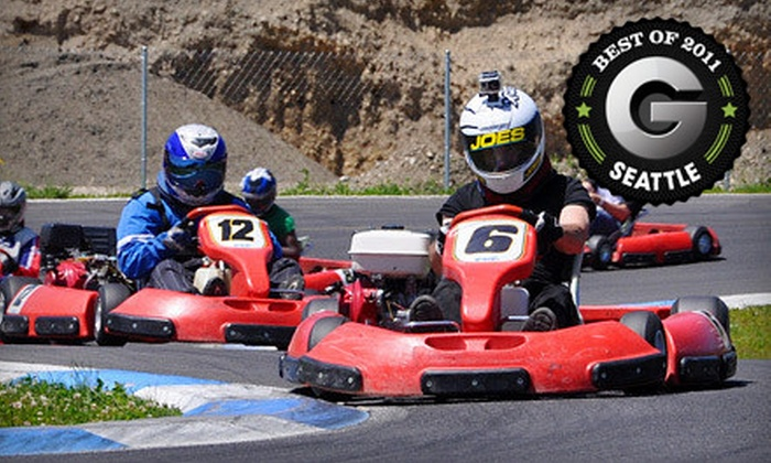 PGP Motorsports Park - Lake Morton-Berrydale: Go-Kart Outing for One, Two, or Four at PGP Motorsports Park in Kent (Up to 57% Off)