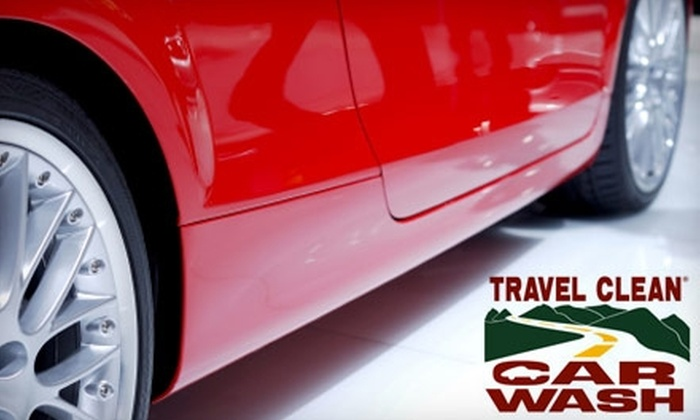 Travel Clean Car Wash - Multiple Locations: $12 for Two Ultimate Car Washes at Travel Clean Car Wash