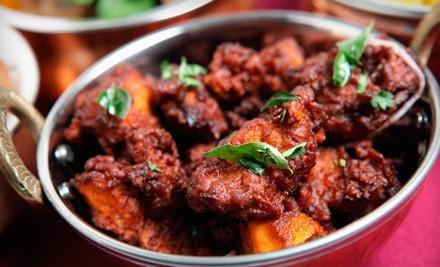 Indian Dinner for 2 - BanZara Restaurant in Glen Allen