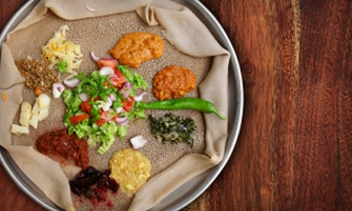 Queen of Sheba - Atlanta-Decatur: $10 for $20 Worth of Ethiopian Dinner at Queen of Sheba (or $7 for $15 Worth of Lunch)