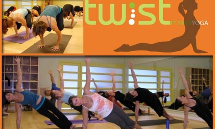 Twist Power Yoga - Preston Hollow: $29 for 30 Days of Unlimited Classes at Twist Power Yoga