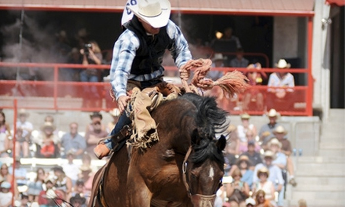 Cheyenne Frontier Days - Frontier Park: $28 for Two Single-Day Rodeo Tickets, Museum Admission for Two, and Parking Voucher at Cheyenne Frontier Days ($56 Value)