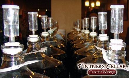 Vintner's Cellar Custom Winery - Vintner's Cellar Custom Winery in Rancho Cordova
