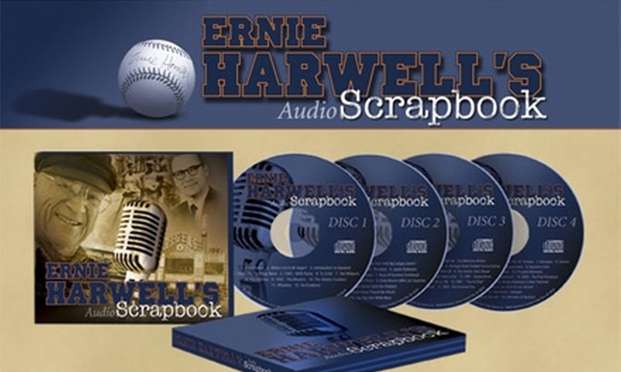 Ernie Harwell's Audio Scrapbook - Detroit: $12 for Ernie Harwell's Audio Scrapbook ($24.79 Value, Includes Shipping and Handling)
