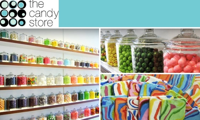 The Candy Store - Russian Hill: $10 for $20 Worth of Delicious Sweet Goodness