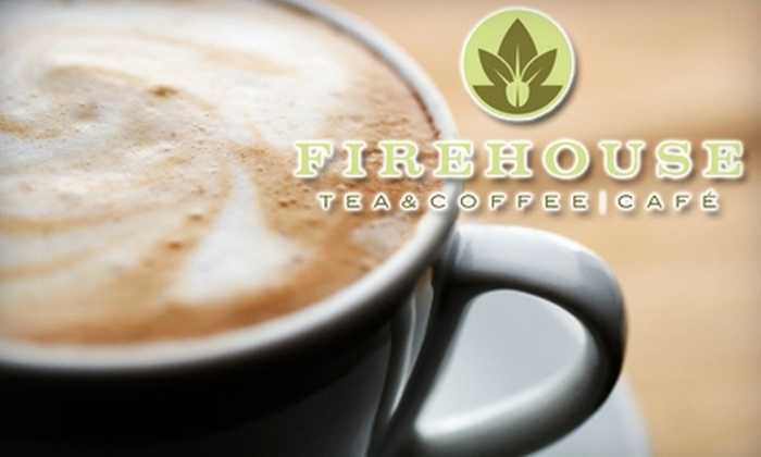 FireHouse Tea & Coffee Café - Northside: $5 for $10 Worth of Tea, Coffee, Baked Treats, and More at Fire House Tea & Coffee Café