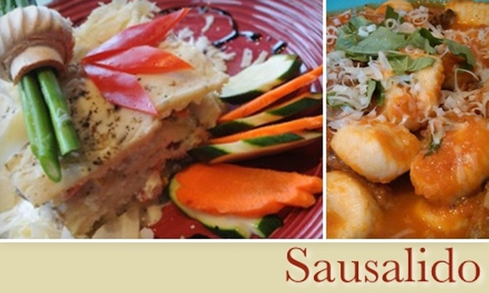 Sausalido - Bloomfield: $20 for $40 Worth of New American Fare at Sausalido