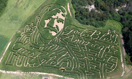 General Admission for Two or Four to Corn Mazes and Fall Attractions at Corn Dawgs Corn Maze (Up to 45% Off)