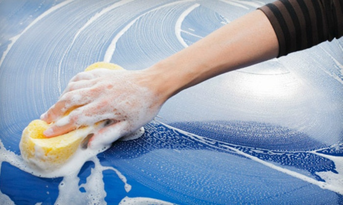 On the Spot Hand Car Wash and Auto Detail - Multiple Locations: Car Washes from On the Spot Hand Car Wash and Auto Detail (Up to 53% Off). Six Options Available.