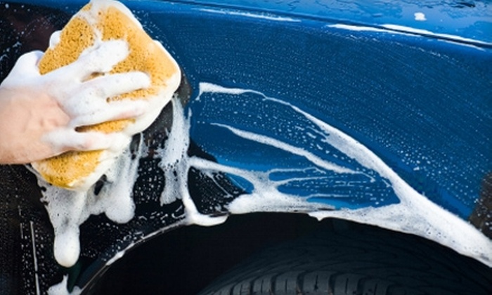 """Auto Spa Laser Wash - Multiple Locations: $30 for Six """"The Works"""" Car Washes at Auto Spa Laser Wash (Up to $60 Value)"""