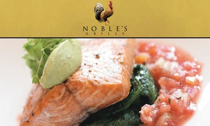Noble's Grille - Winston-Salem: $30 for $60 of Upscale Southern Cuisine at Noble's Grille