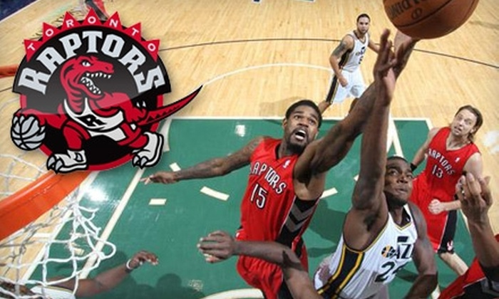 Toronto Raptors - Downtown Toronto: Tickets with Included Toque to a Toronto Raptors NBA Game. Four Games and Three Seating Levels Available.