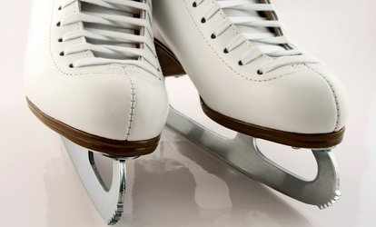 image for Ice Skating with Skate Rentals for Two or Four at SoNo Ice House (Up to 50% Off)