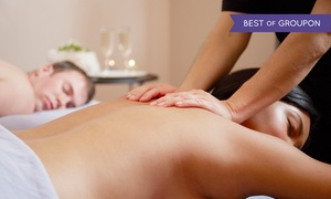 The New You Day Spa: 60-Minute Couples Massage with Optional Couples Manicure or Head & Scalp Massage (Up to 50% Off)