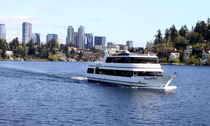Waterways Cruises - Multiple Locations: $27 for the Two-Lakes Lunch Cruise for One from Waterways Cruises ($55 Value)