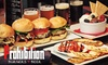 Up to 53% Off at Prohibition Burgers & Beer