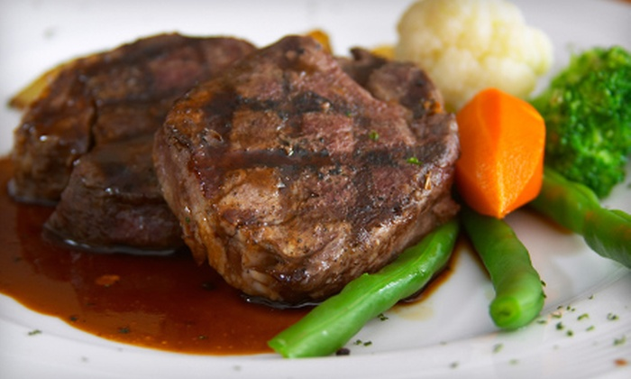 Gene's Steak House - Highridge Estates: Upscale American Fare at Gene's Steak House. Two Options Available.