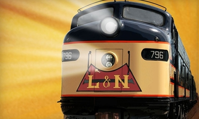 Historic Railpark & Train Museum - Bowling Green: $5 Adult Admission to The Historic Railpark and Train Museum ($10 Value)