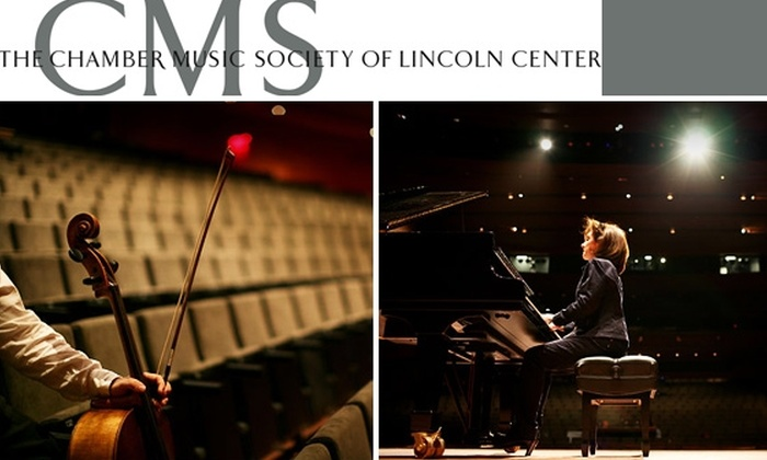 The Chamber Music Society of Lincoln Center - New York City: $55 for Your Choice of Three Chamber Music Society Concerts at Alice Tully Hall at Lincoln Center