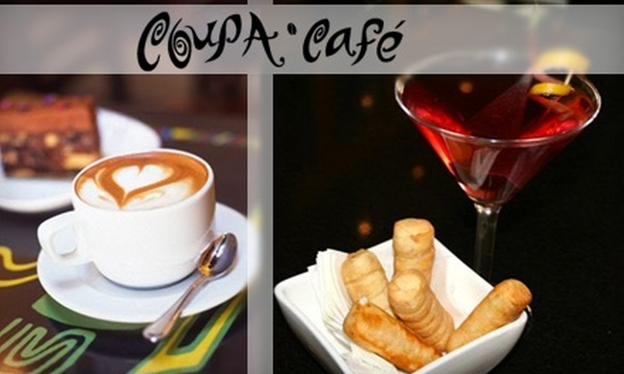 Coupa Café - Beverly Hills: $15 for $30 Worth of Venezuelan Coffee and Cuisine at Coupa Café