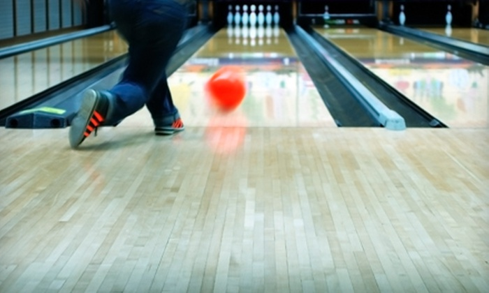 Rose Bowl - Thomasville: $18 for Bowling Outing for Two at Rose Bowl (Up to $37.50 Value)