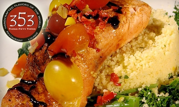 353 Restaurant - Mount Kisco: $15 for $30 Worth of Italian Fare at 353 Restaurant