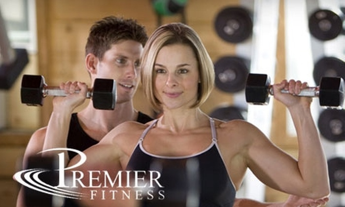 Premier Fitness - Wichita: $46 for One Month of Unlimited Group Camp Fitness Classes Plus a Personal Fitness Assessment at Premier Fitness