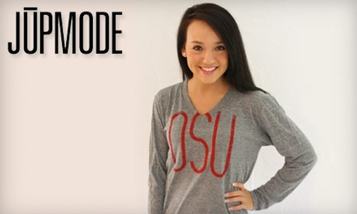 JUPMODE: $25 for $50 Worth of College Tees and More at JUPMODE