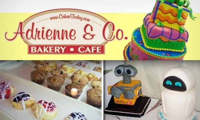 Adrienne & Co. Bakery and Café - Downtown Jeffersonville: $10 for $20 Worth of Fresh-Baked Treats and Meals at Adrienne & Co. Bakery and Café