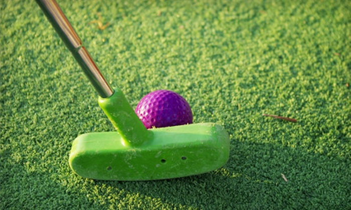 Golf Center of Arlington - North Arlington: Five Mini-Golf Rounds or Five Buckets of Driving-Range Balls at Golf Center of Arlington (Up to 60% Off)