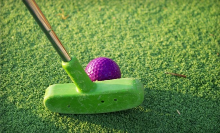 Pass for Five 18-Hole Rounds of Miniature Golf (a $30 value) - Golf Center of Arlington in Arlington