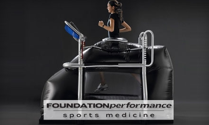 Foundation Performance  - Pawtucket: $25 for a One-Hour AlterG Anti-Gravity Treadmill Session at Foundation Performance ($50 Value)