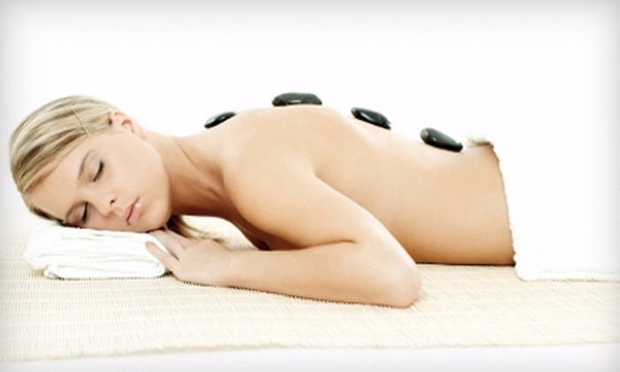 The Whole You Spa - Riverdale: $89 for a Hot-Stone Massage Package at The Whole You Spa in Riverdale ($185 Value)
