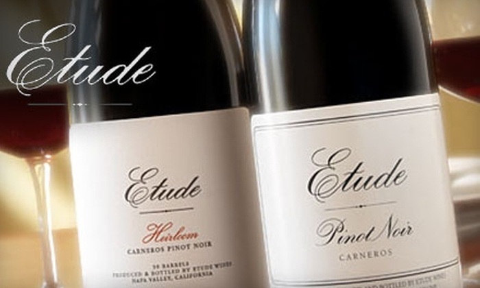 Etude Wines - Napa: $35 for a Wine Tasting and Food Pairing for Two at Etude Wines in Napa ($70 Value)