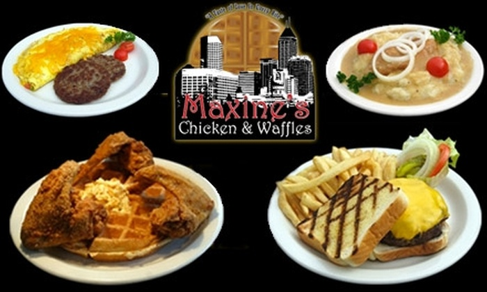 Maxine's Chicken & Waffles - Downtown Indianapolis: $10 for $25 Worth of Grub and Guzzle at Maxine's Chicken and Waffles