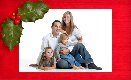 In-Studio Holiday Photo-Shoot Package (a $135 value) - Flash House Studios in Worcester