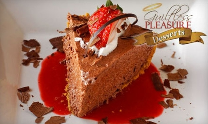 Guiltless Pleasure Desserts: $18 for Two Low-Calorie Prepare-at-Home Pies from Guiltless Pleasure Desserts ($36 Value)