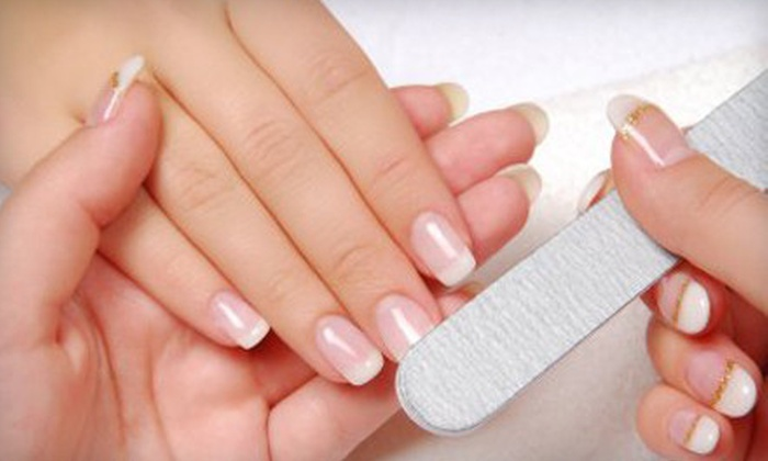 Carnegie Nail Design - Riverside: $15 for a Manicure Package with Manicure and Paraffin Dip at Carnegie Nail Design (Up to $30 Value)