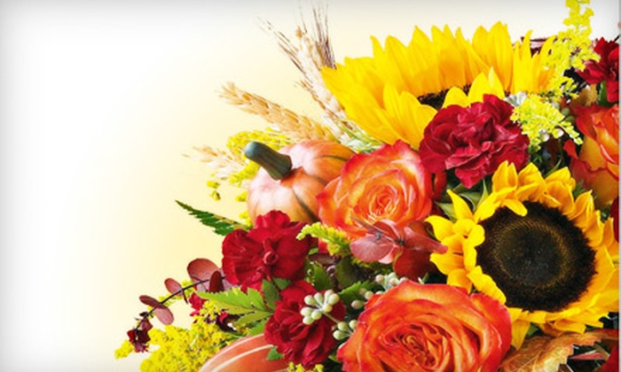 Ruth Messmer Florist's - Multiple Locations: $20 for $40 Worth of Floral Arrangements and Gift Baskets at Ruth Messmer Florist