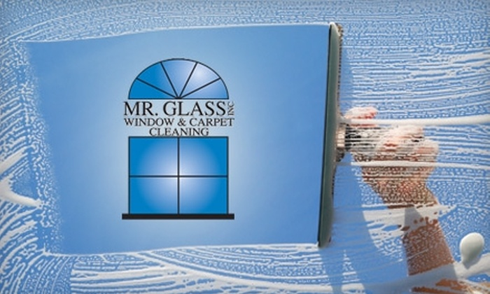 Mr. Glass Window & Carpet Cleaning - Hough: $75 for $150 Worth of Carpet Cleaning or $60 for $120 Worth of Window Cleaning from Mr. Glass in Clark County