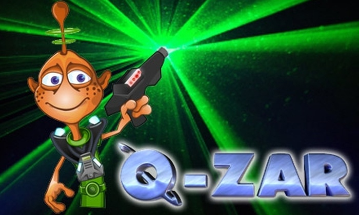 Q-ZAR Laser Tag Atlanta - Suwanee-Duluth: $8 for Three Games of Laser Tag at Q-Zar ($16 Value)